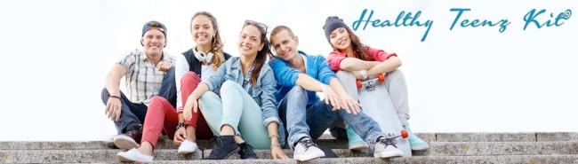 Healthy Teens banner